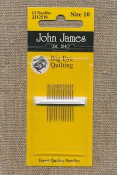 Quiltenål/Big Eye Quiltning size 10
