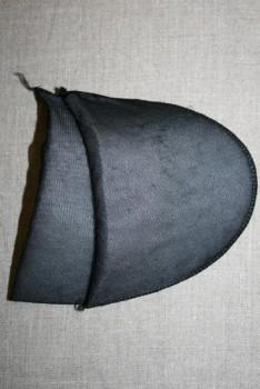 Skulderpude tynd, sort