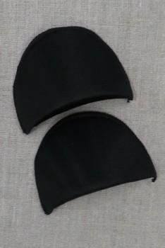 Skulderpude lille i sort