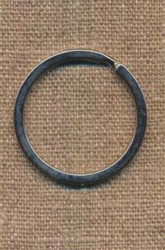 Nøglering 35 mm. i sølv
