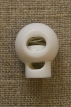 Snorstopper stor rund, knækket hvid