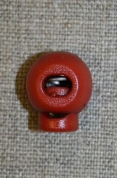 Snorstopper lille rund, brændt orange