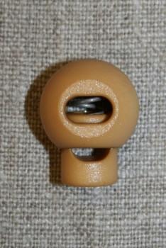 Snorstopper stor rund, beige/gylden