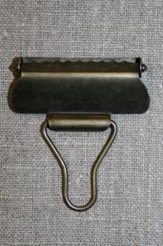 Overall spænde gl.guld 40 mm.