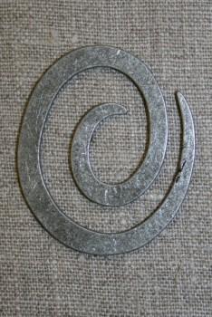 Spiral til strik, gl.sølv