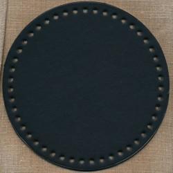 Taskebund i nappa, 20 cm. i sort