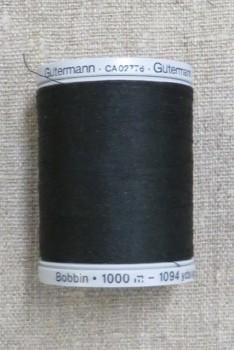 Gutermann Bobbin tråd i sort fv. 1005
