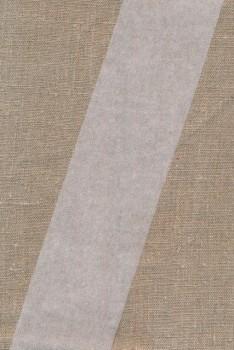 Vlies bånd i hvid 70 mm.