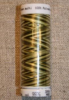 Broderitråd Mettler, multi army-oliven-lysegrøn