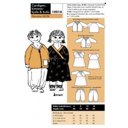 Onion 10014 Cardigan, kimono-kjole and buks-20