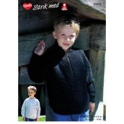 20273 Sweater m/lynlås-20