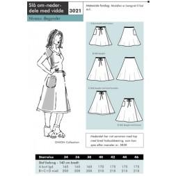 Onion 3021-Slå om-nederdel med vidde-20