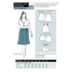 Onion 3032 Nederdel med læg detaljer-20