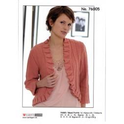 76005 Kort jakke m/flæsekant-20