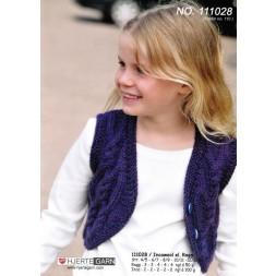 111028 Bolero-vest i Inca Wool-20