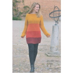 1661 Stribet patent sweater-20