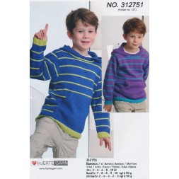 312751 Sweater m/hætte and lomme-20