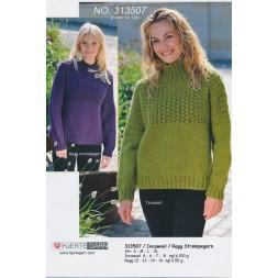 313507 Sweater m/hulmønster-20