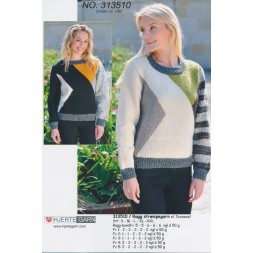 313510 Sweater m/farveblokke-20
