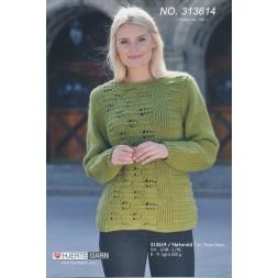 313614 Tværstrikket Sweater-20