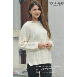 414685 Sweater m/rundt bærestykke-20