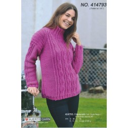 414793 Sweater m/snoninger-20