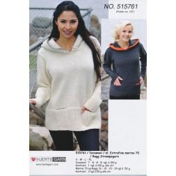 515761 Sweater m/hætte-20
