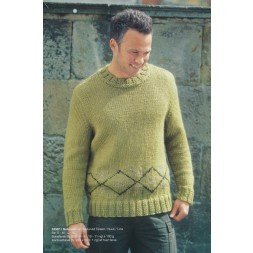 53567 Herre-sweater m/mønsterbort-20