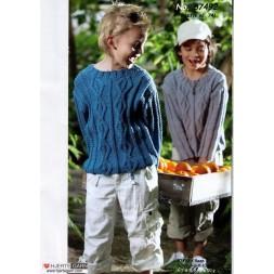 87492 Sweater med snoninger-20