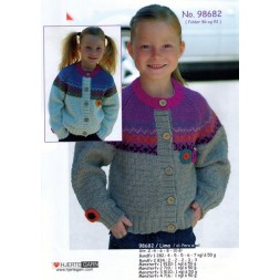 98682 Pige-trøje m/mønster-20
