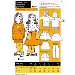 20044-Hættetunika,nederdel,gamacher-20