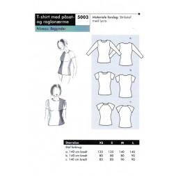Onion 5003-T-shirt med påsat og raglanærme-20