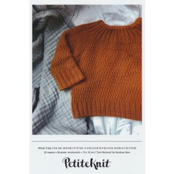 Alfreds Trøje PetiteKnit strikkeopskrift-20