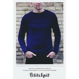Ankers trøje My boyfriend´s size PetiteKnit strikkeopskrift-20