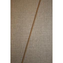 Elastik-anoraksnor lysebrun 2 mm.-20