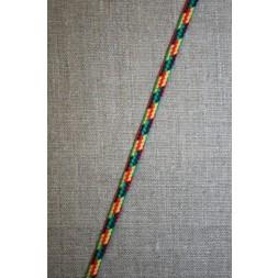 Anoraksnor 5 mm. fler-farvet rød/gul/grøn-20