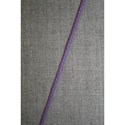 Anoraksnor bomuld 3,5 mm. lyselilla-20