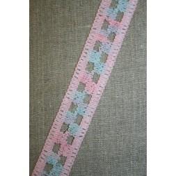 Bånd lyserød/lyseblå/lyselilla-20