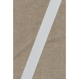 Grosgrainbånd 25 mm. hvid-20