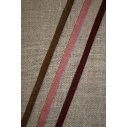Alcantara-bånd brun-20
