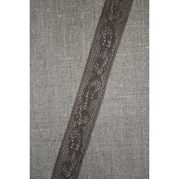 Nylonblonde 20 mm. brun-20
