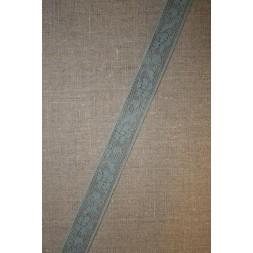 Nylonblonde 20 mm. støvet lysegrøn-20