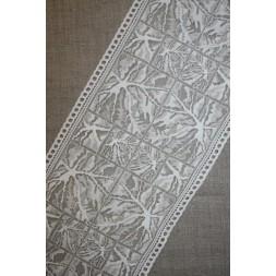 """Strækblonde off-white m/""""spindelvæv"""", 160 mm.-20"""