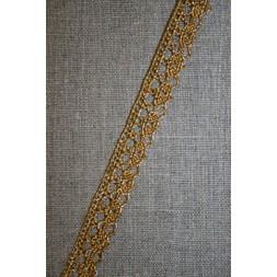 Blonde metalic 12 mm, rød-guld-20