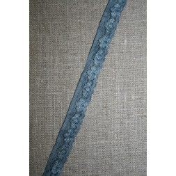 Strækblonde 12 mm. batik denim-støvet blå-20