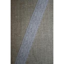 Strækblonde 20 mm. lys grå-20