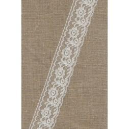 Nylonblonde hvid 40 mm.-20