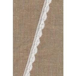 Bomulds-blonde 12 mm. i hvid-20