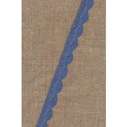 Bomulds-blonde 12 mm. i denim-blå-20