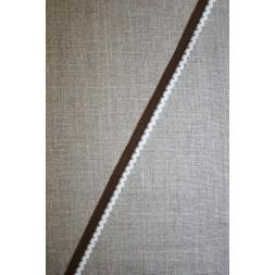 Kantelastik retro brun hvid-20